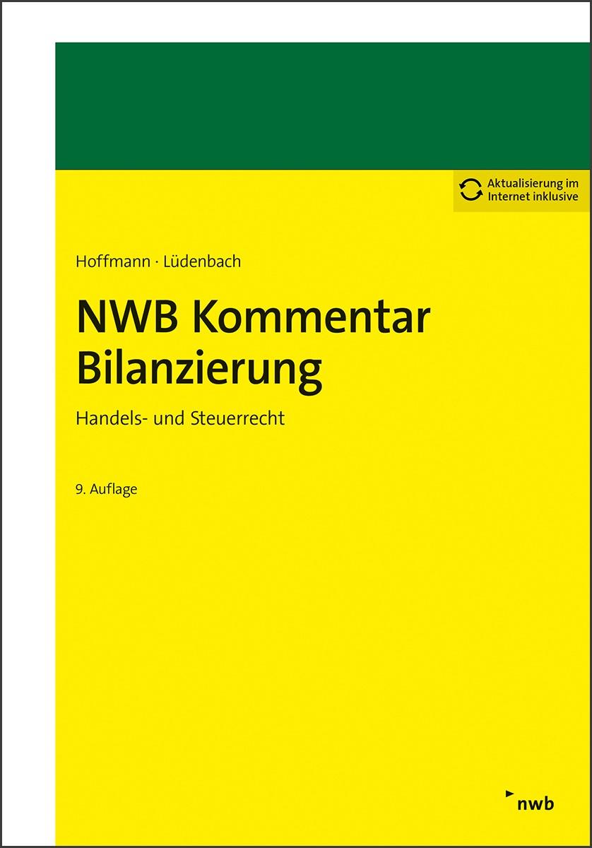 NWB Kommentar Bilanzierung | Hoffmann / Lüdenbach | 9., vollständig überarbeitete und erweiterte Auflage, 2017 | Buch (Cover)