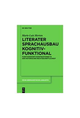 Abbildung von Merten | Literater Sprachausbau kognitiv-funktional | 2018 | Funktionswort-Konstruktionen i...