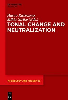 Abbildung von Kubozono / Giriko | Tonal Change and Neutralization | 1. Auflage | 2018 | beck-shop.de