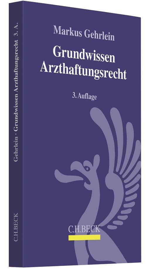 Grundwissen Arzthaftungsrecht | Gehrlein | 3. Auflage, 2018 | Buch (Cover)