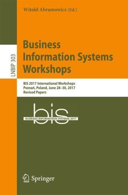 Abbildung von Abramowicz | Business Information Systems Workshops | 2017