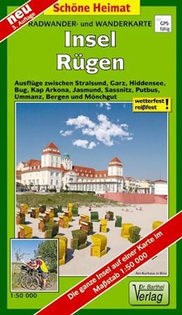 Abbildung von Insel Rügen Radwander- und Wanderkarte 1 : 50 000   3. Auflage, Laufzeit bis 2023   2017   Ausflüge zwischen Stralsund, H...