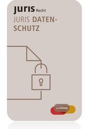 juris PartnerModul Datenschutz - Jahresabonnement, 2017 (Cover)