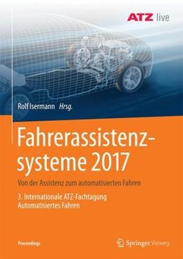 Abbildung von Isermann   Fahrerassistenzsysteme 2017   2017   Von der Assistenz zum automati...