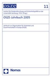 OSZE-Jahrbuch 2005 | / IFSH, 2006 | Buch (Cover)