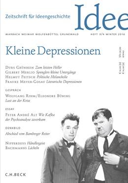 Abbildung von Klenner / Raulff | Zeitschrift für Ideengeschichte Heft X/4 Winter 2016 | 1. Auflage | 2016 | beck-shop.de