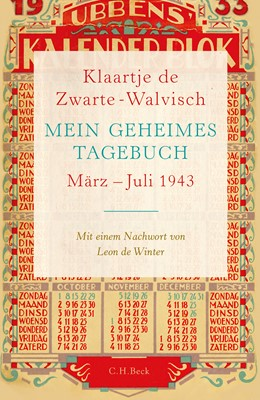 Abbildung von Zwarte-Walvisch   Mein geheimes Tagebuch   2016   März - Juli 1943