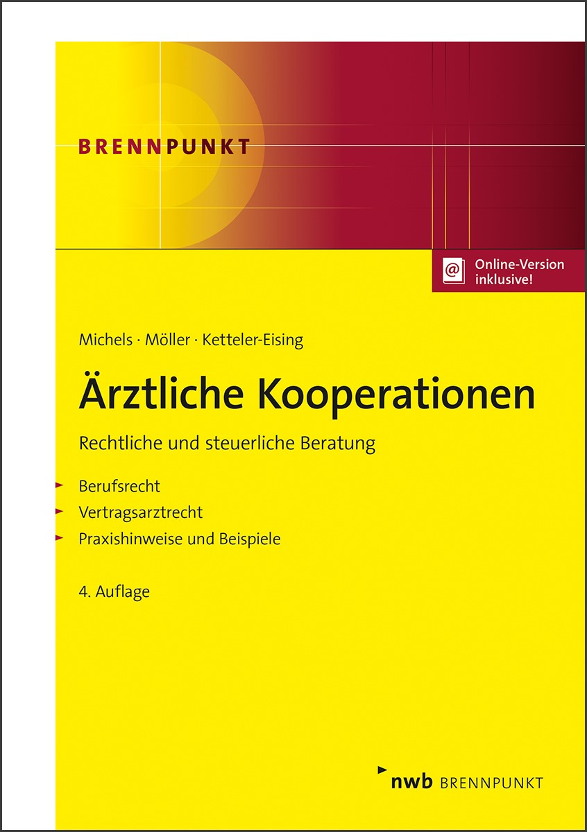 Ärztliche Kooperationen | Michels / Möller / Ketteler-Eising | 4. Auflage, 2018 (Cover)