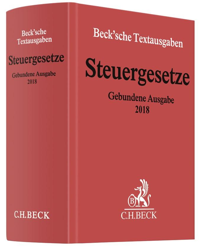 Steuergesetze Gebundene Ausgabe 2018, 2018 (Cover)