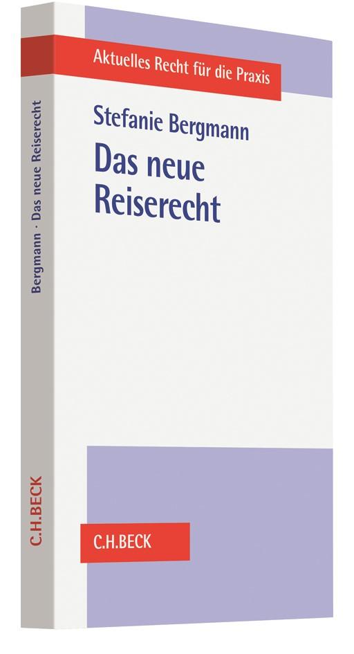 Das neue Reiserecht | Bergmann, 2018 | Buch (Cover)