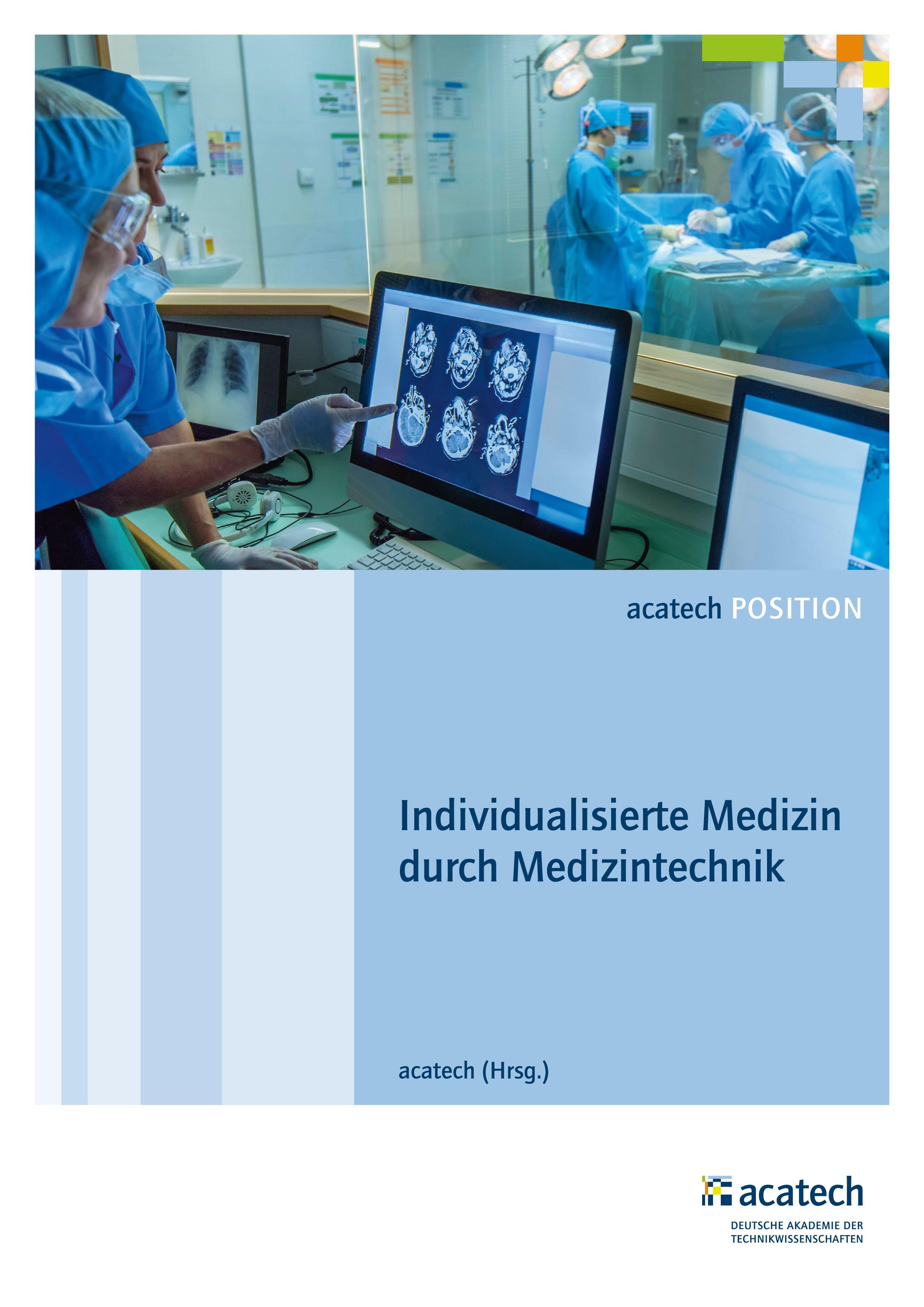 Abbildung von Acatech | Individualisierte Medizin durch Medizintechnik | 2017