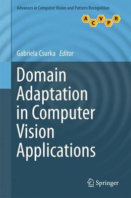 Abbildung von Csurka | Domain Adaptation in Computer Vision Applications | 1. Auflage | 2017 | beck-shop.de