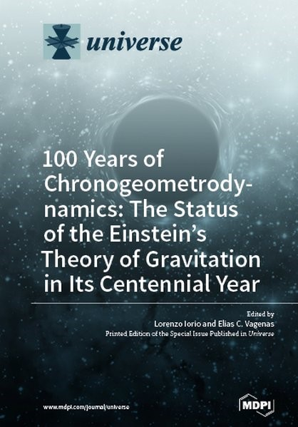 100 Years of Chronogeometrodynamics, 2017   Buch (Cover)