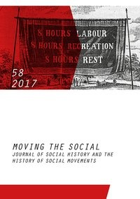 Moving the Social 58/2017, 2017 | Buch (Cover)