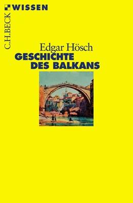 Abbildung von Hösch   Geschichte des Balkans   3. Auflage   2016   2356