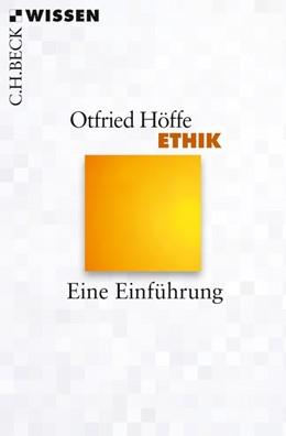 Abbildung von Höffe   Ethik   2013   Eine Einführung   2800