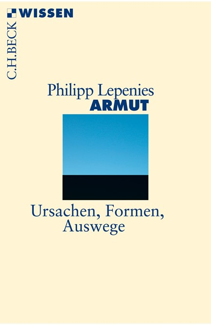 Cover: Philipp Lepenies, Armut