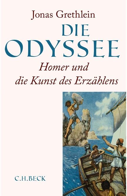 Cover: Jonas Grethlein, Die Odyssee