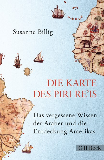 Cover: Susanne Billig, Die Karte des Piri Re'is