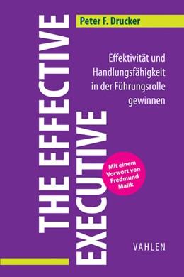Abbildung von Drucker   The Effective Executive   2014   Effektivität und Handlungsfähi...