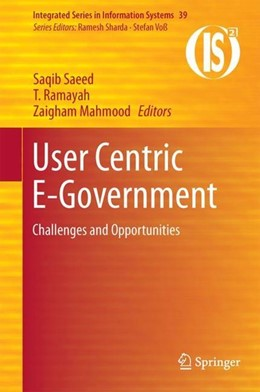 Abbildung von Saeed / Ramayah | User Centric E-Government | 1. Auflage | 2017 | beck-shop.de