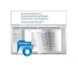 Abbildung von Krause / Vogt   Sicherer Umgang mit Gewährleistung und Mängelansprüchen in der Baupraxis   1. Auflage   2017   beck-shop.de