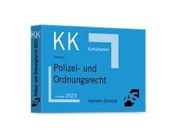 Abbildung von Wüstenbecker / Sommer | Karteikarten Polizei- und Ordnungsrecht | 2021