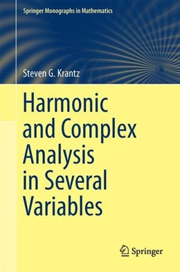Abbildung von Krantz | Harmonic and Complex Analysis in Several Variables | 1. Auflage | 2017 | beck-shop.de