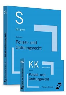 Abbildung von Wüstenbecker / Sommer | Skript Polizei- und Ordnungsrecht + Karteikarten Polizei- und Ordnungsrecht - Set | 2020