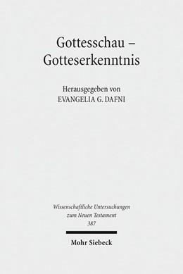 Abbildung von Dafni | Gottesschau - Gotteserkenntnis | 1. Auflage | 2017 | beck-shop.de