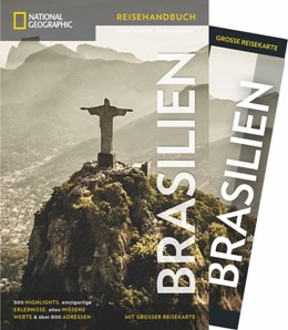 Abbildung von Rabe / Hinchberger | NATIONAL GEOGRAPHIC Reisehandbuch Brasilien | 1. Auflage | 2018 | beck-shop.de