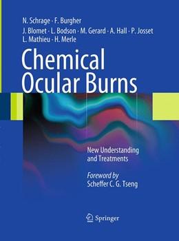 Abbildung von Schrage / Burgher / Blomet | Chemical Ocular Burns | Softcover reprint of the original 1st ed. 2011 | 2016 | New Understanding and Treatmen...