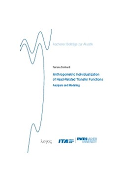 Abbildung von Bomhardt | Anthropometric Individualization of Head-Related Transfer Functions Analysis and Modeling | 2017 | 28
