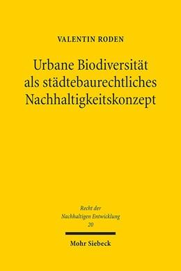Abbildung von Roden | Urbane Biodiversität als städtebaurechtliches Nachhaltigkeitskonzept | 2017 | Analyse, Umsetzung und Perspek... | 20