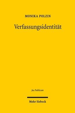 Abbildung von Polzin | Verfassungsidentität | 2018 | Ein normatives Konzept des Gru... | 272