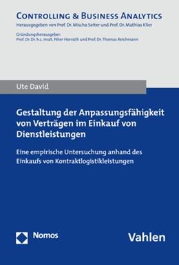 Abbildung von David | Gestaltung der Anpassungsfähigkeit von Verträgen im Einkauf von Dienstleistungen | 1. Auflage | 2017 | beck-shop.de