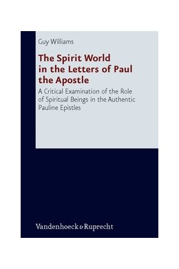 Abbildung von Williams | The Spirit World in the Letters of Paul the Apostle | Aufl. | 2009 | A Critical Examination of the ... | Band 231