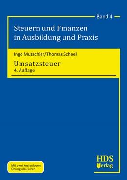 Abbildung von Mutschler / Scheel   Umsatzsteuer   4. Auflage   2018   Band 4