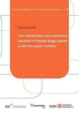 Abbildung von Hochloff   Unit commitment and investment valuation of flexible biogas plants in German power markets   2017