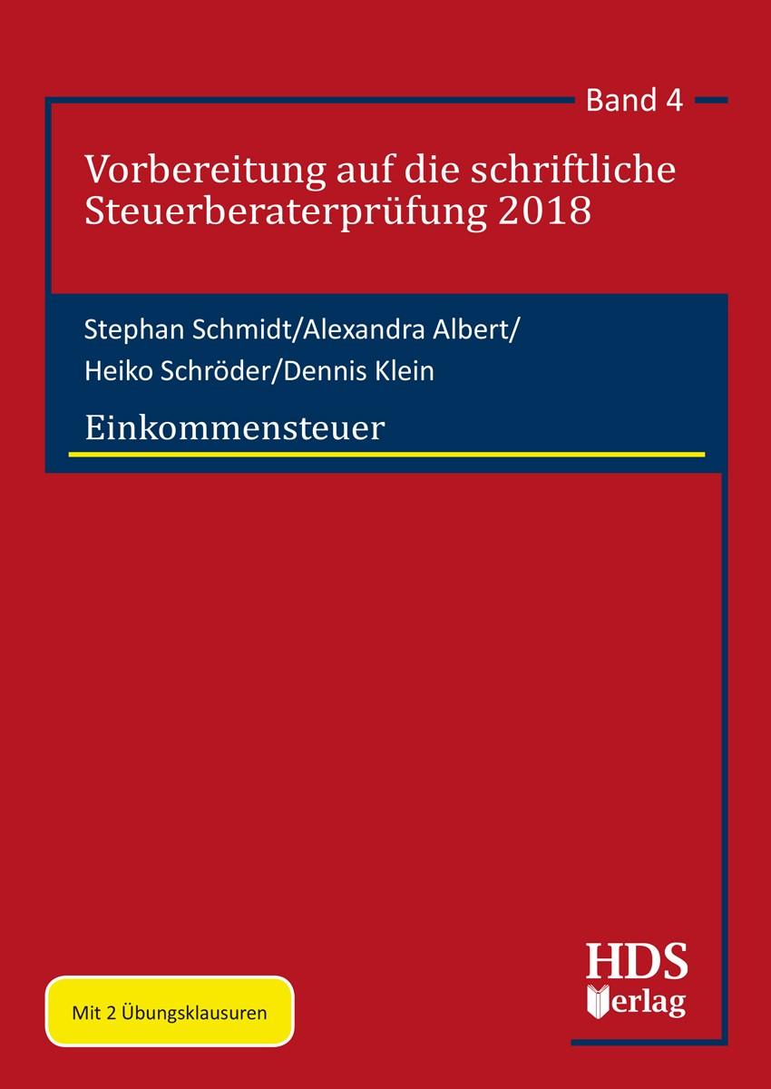 Einkommensteuer   Schmidt / Albert / Schröder / Klein, 2019   Buch (Cover)