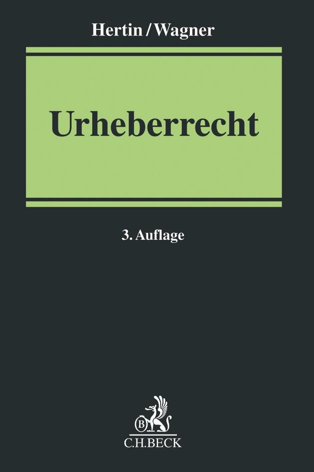 Urheberrecht   Hertin / Wagner   3. Auflage, 2019   Buch (Cover)