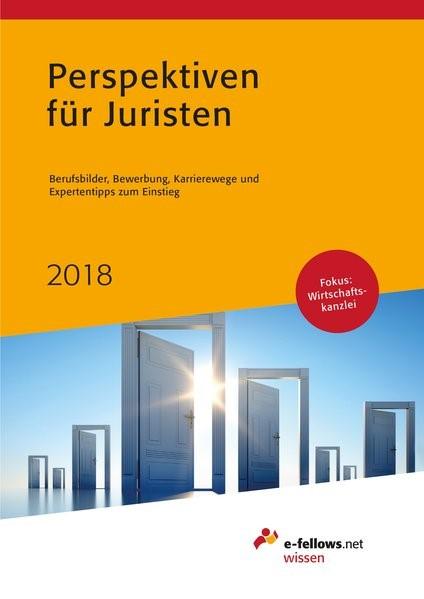 Perspektiven für Juristen 2018   Neuauflage, 2017   Buch (Cover)