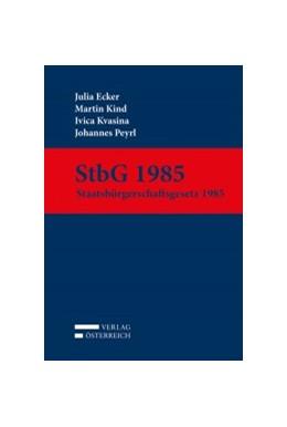 Abbildung von Ecker / Kind | StbG 1985 | 1. Auflage | 2017 | beck-shop.de