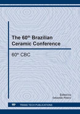 Abbildung von Ribeiro | The 60th Brazilian Ceramic Conference | 2018 | 60th CBC | Volume 912