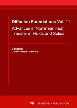Abbildung von Makinde   Advances in Nonlinear Heat Transfer in Fluids and Solids   2017   Advances in Nonlinear Heat Tra...   Volume 11