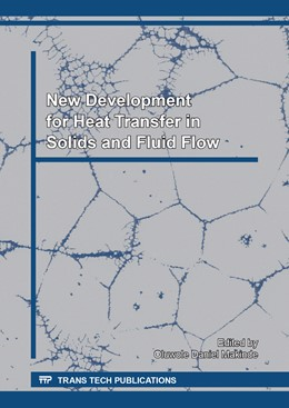 Abbildung von Makinde   New Development for Heat Transfer in Solids and Fluid Flow   1. Auflage   2017   Volume 377   beck-shop.de