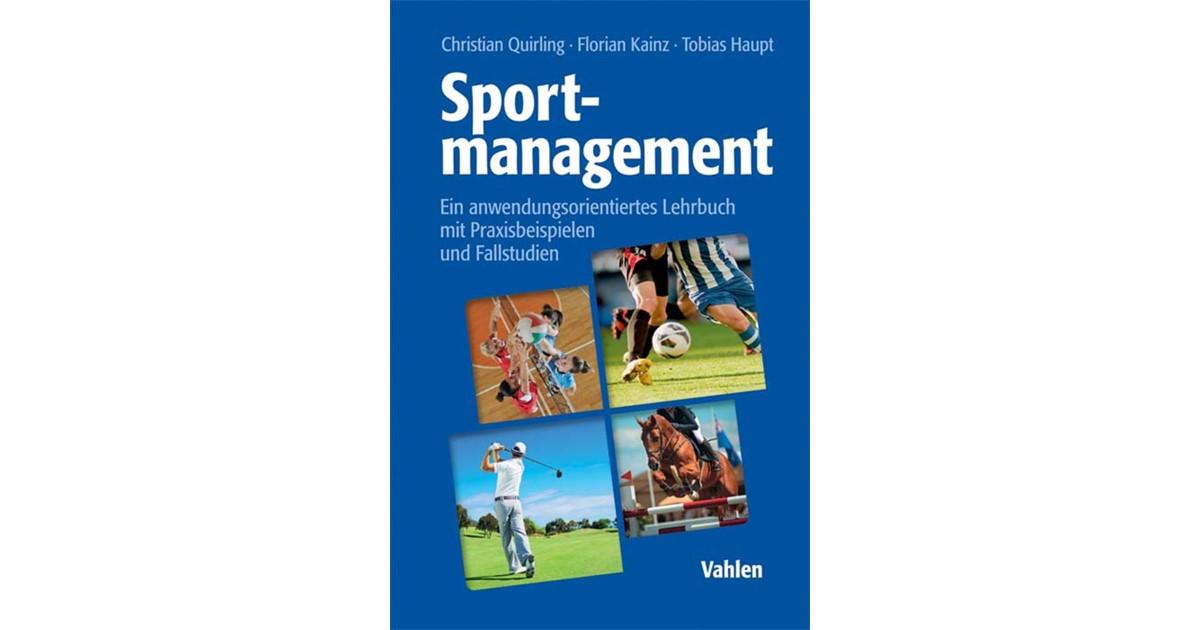 Sportmanagement | Quirling / Kainz / Haupt, 2017 | eBook | beck-shop.de