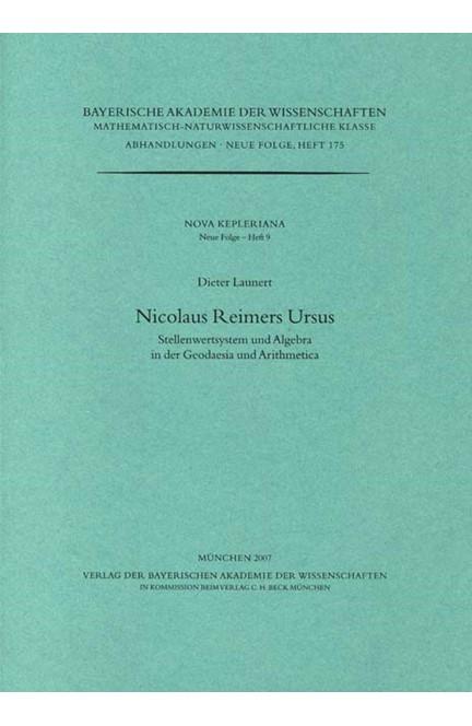 Cover: Dieter Launert, Nicolaus Reimers Ursus