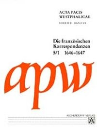 Acta Pacis Westphalicae, Serie II Abt. B   Braun, 2002   Buch (Cover)