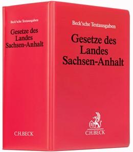Abbildung von Gesetze des Landes Sachsen-Anhalt   73. Auflage   2019